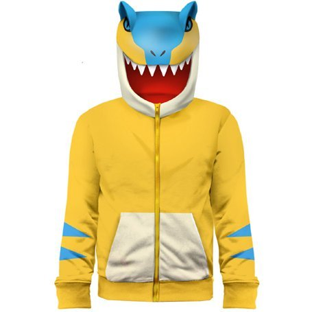Monster Hunter Full Zip Hoodie Tigarex (XL Size)