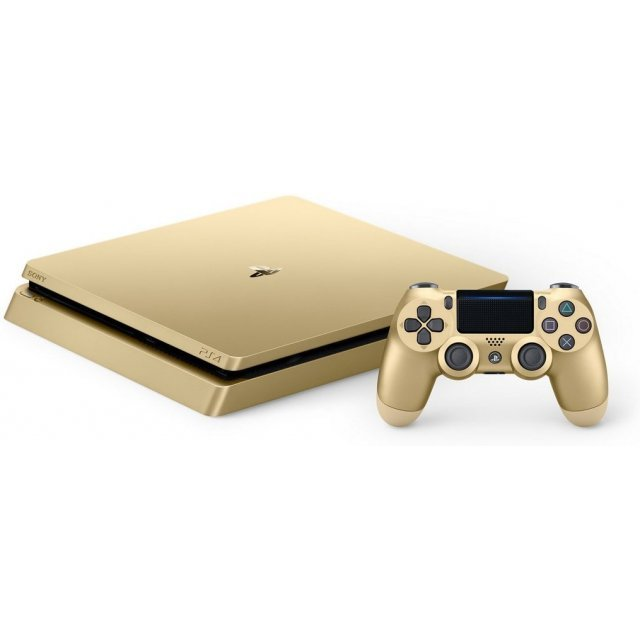 PlayStation 4  Limited Edition Gold  (1TB Console)