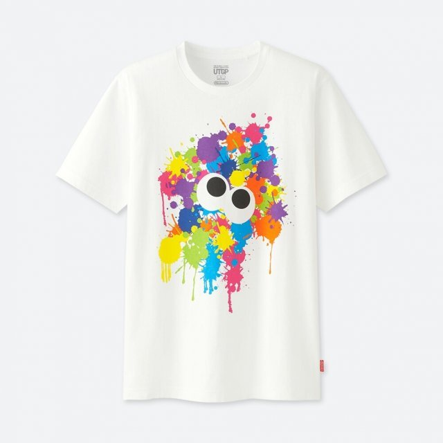 Splatoon Utgp Nintendo Men's T-shirt (S Size)