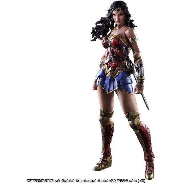Wonder Woman Play Arts Kai: Wonder Woman