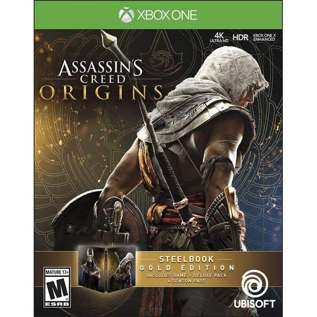 Assassin's Creed Origins [Steel Book Gold Edition]