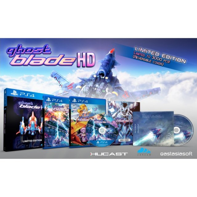 Ghost Blade HD [Limited Edition] - Play-Asia.com Exclusive