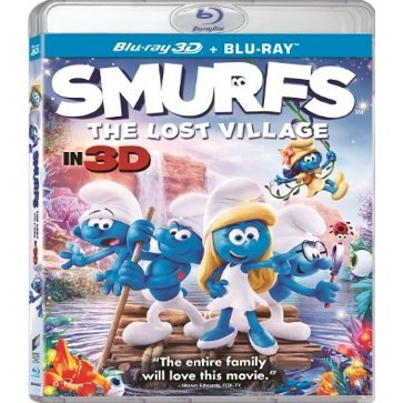 Smurfs: The Lost Village 3D+2D