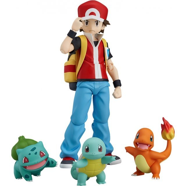 figma Pokemon: Red [Pokemon Center Online Shop Limited Ver.]