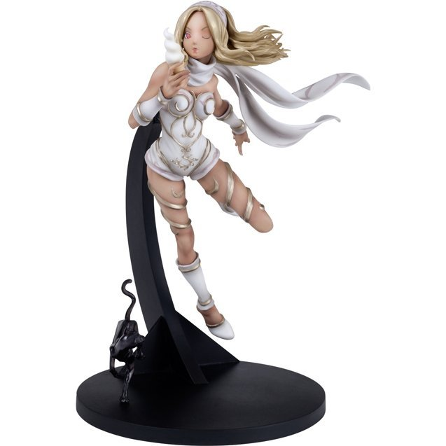 Hdge Technical Statue No.4 EX Gravity Daze: Gravity Kitten White Ver. (Re-run)