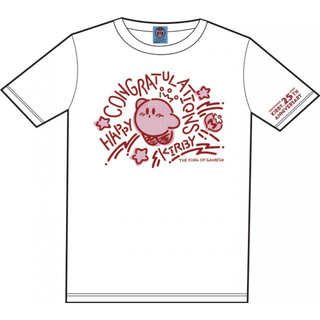Kirbys Dream Land Congratulations T-shirt White With Mascot [Limited Edition] (M Size)