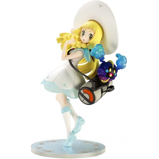Pokemon Sun & Moon 1/8 Scale Pre-Painted Figure: Lillie and Cosmog [Pokemon Center Online Shop Limited Ver.]