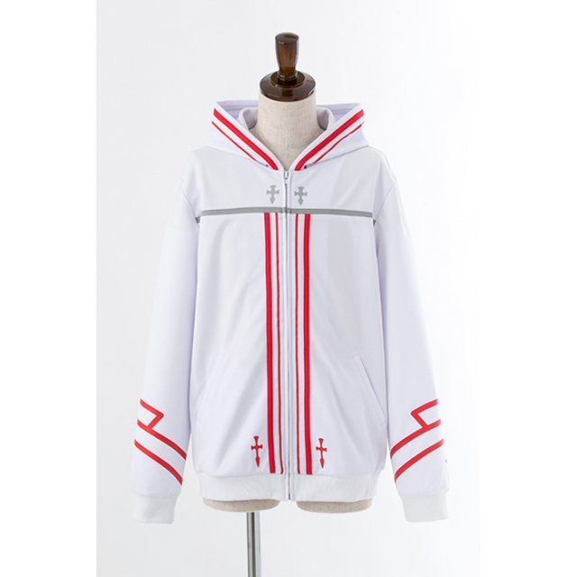 Sword Art Online Image Hoodie - Asuna Knights Of The Blood Model (M Size)