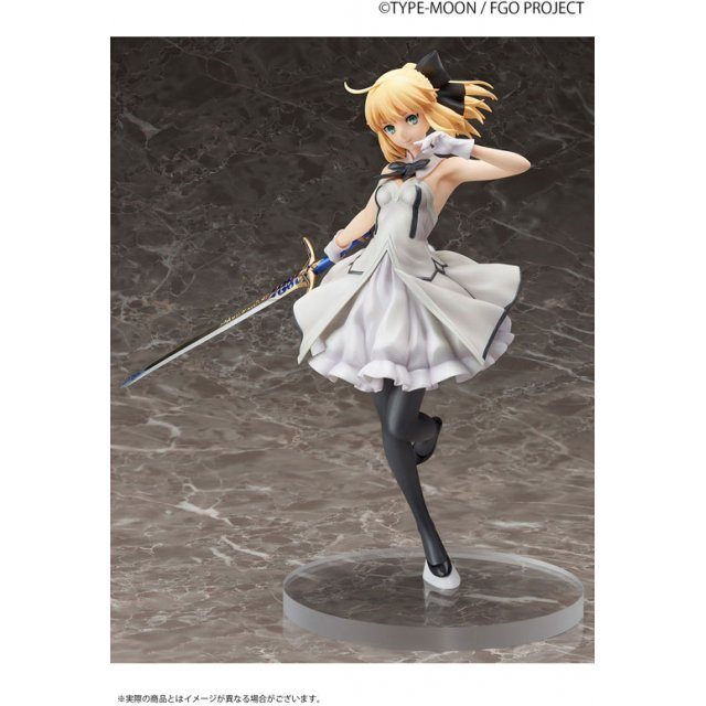 Fate/Grand Order 1/7 Scale Pre-Painted Figure: Saber/Altria Pendragon [Lily]