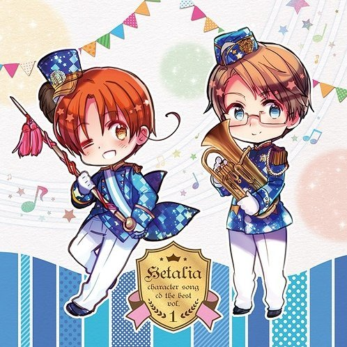 hetalia character song cd the best vol 1 hetalia
