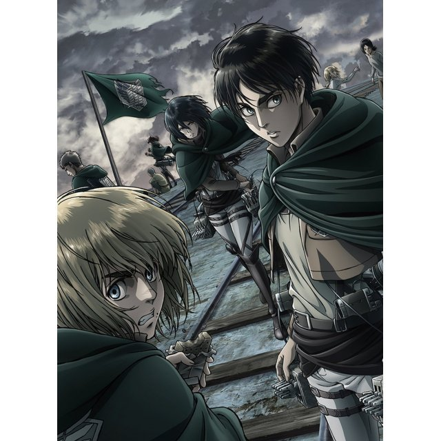 Attack On Titan (Shingeki No Kyojin) Anime Season 2 Vol.1
