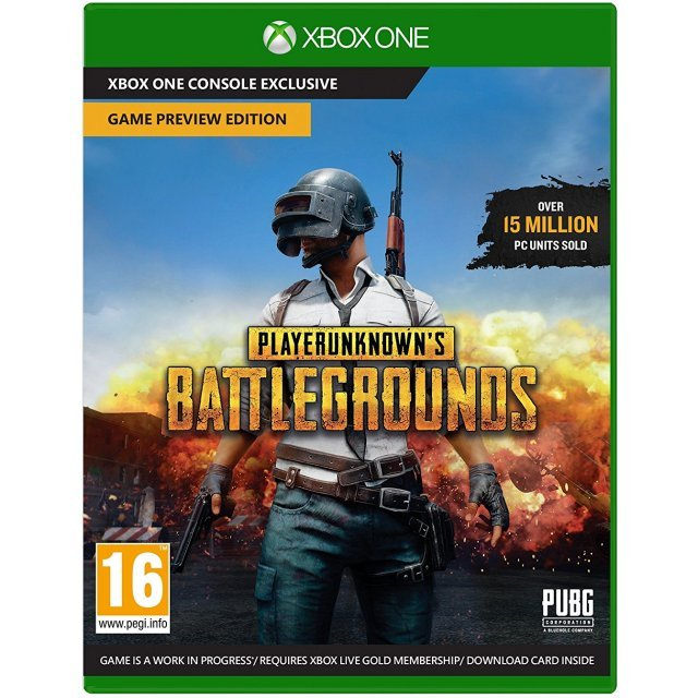 PlayerUnknown's Battlegrounds [Game Preview Edition]