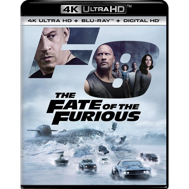 The Fate Of The Furious [4K Ultra HD Blu-ray]