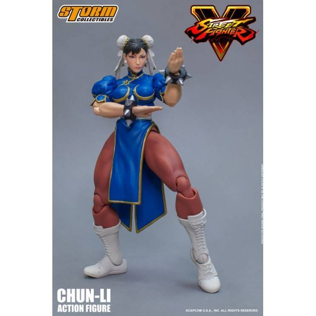 Street Fighter V 1/12 Scale Pre-Painted Action Figure: Chun-Li