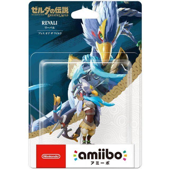 amiibo The Legend of Zelda: Breath of the Wild Series Figure (Ribal) [Re-run]