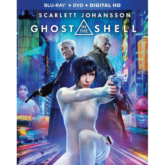 Ghost In The Shell [Blu-ray+DVD+Digital HD]