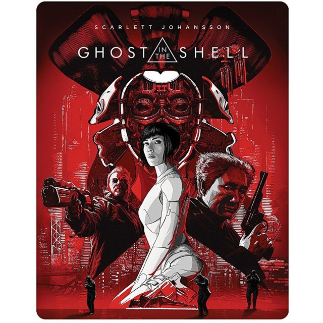 Ghost In The Shell Steel Book Specification 3D Blu-ray + Blu-ray External Bonus
