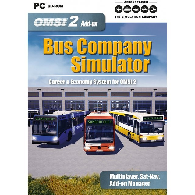 OMSI 2 Add-On: Bus Company Simulator (DVD-ROM)