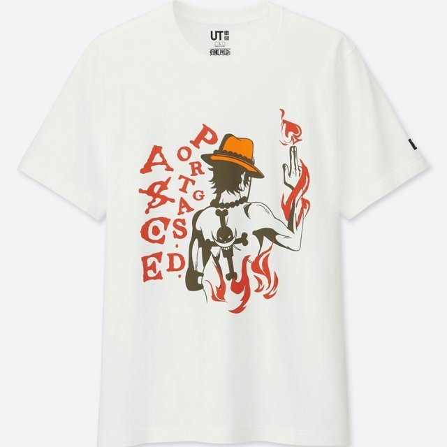 Uniqlo One Piece Portgas Men's T-shirt (S Size)