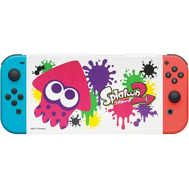 Splatoon 2 Cover with Stand for Nintendo Switch (Ika)