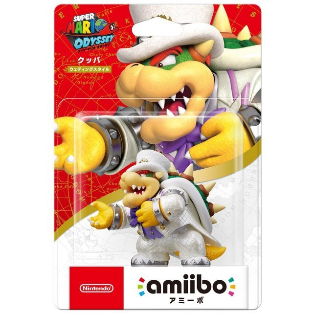 amiibo Super Mario Odyssey Series Figure (Koopa - Wedding Outfit)
