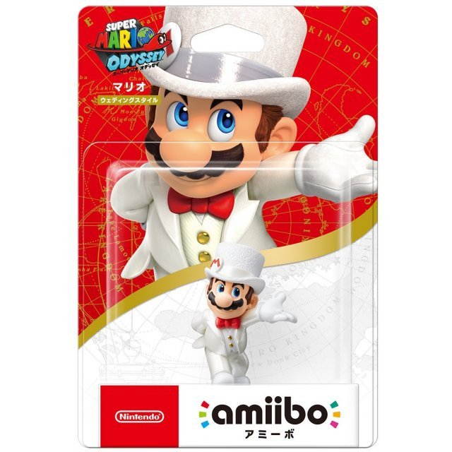 Amiibo Super Mario Odyssey Series Figure Mario Wedding Outfit Re Run