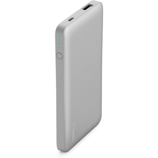 Belkin Pocket Power 5K Power Bank (5000mAh) (Silver)