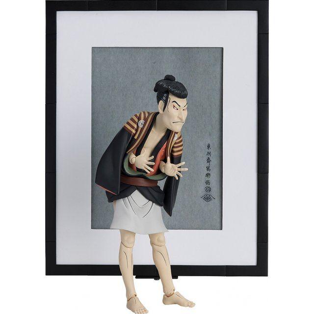 figma No. SP-100 The Table Museum: Otani Oniji III as Yakko Edobei by Sharaku