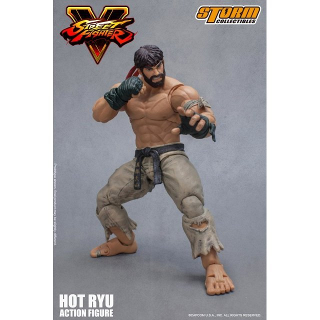 Street Fighter V 1/12 Scale Pre-Painted Action Figure: Hot Ryu