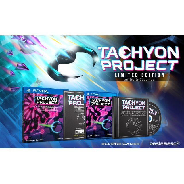 Tachyon Project [Limited Edition] - Play-Asia.com Exclusive