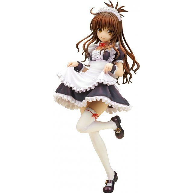To Love-Ru Darkness 1/7 Scale Pre-Painted Figure: Mikan Yuuki Maid Style