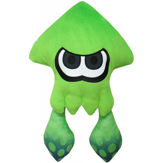 Splatoon 2 All Star Collection Plush: Big Squid Neon Green (Re-run)