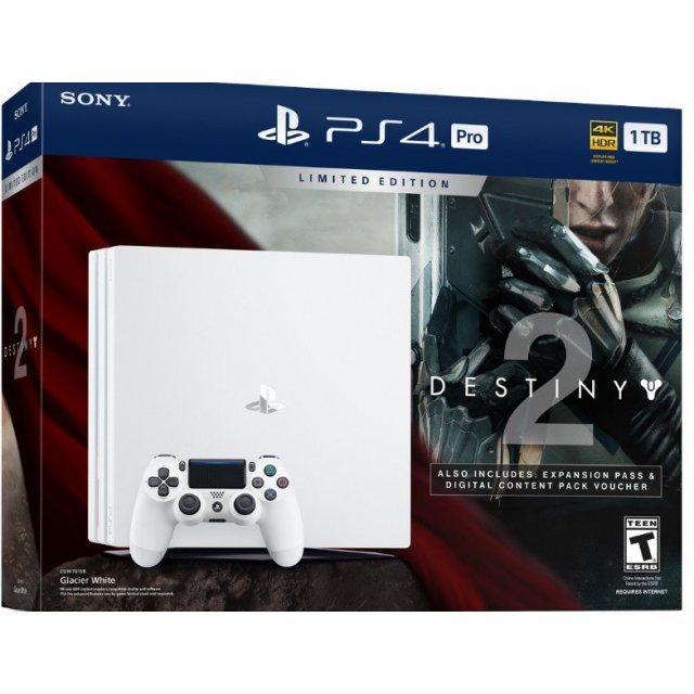 PlayStation 4 Pro Destiny 2 Bundle (Glacier White)