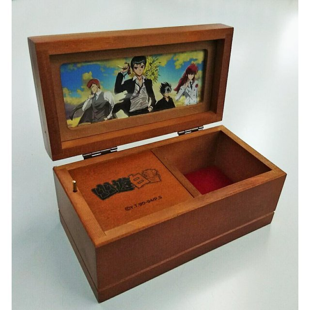 Yu Yu Hakusho Wooden Music Box (Tune - Hohoemi no Bakudan)