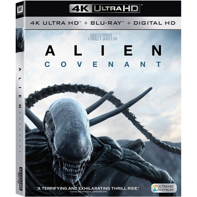 Alien: Covenant [4K Ultra HD Blu-ray]