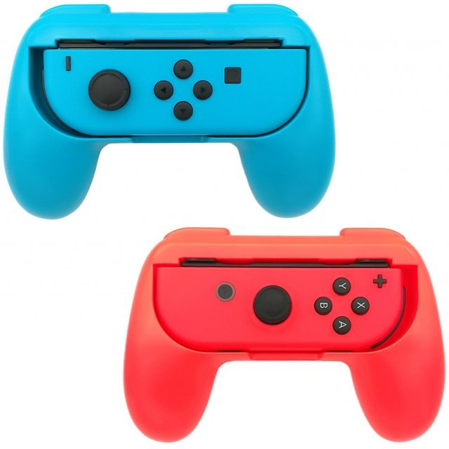 Joy-Con Grip Pack for Nintendo Switch (Red & Blue)