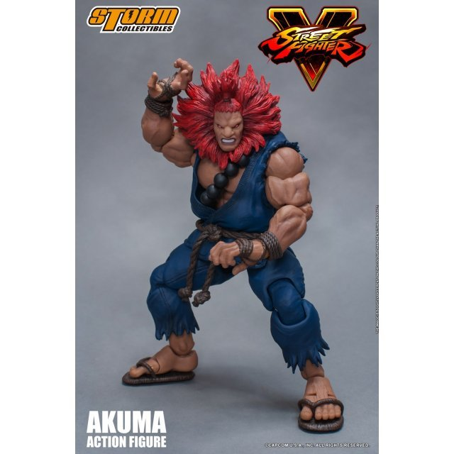 Street Fighter V 1/12 Scale Pre-Painted Action Figure: Akuma
