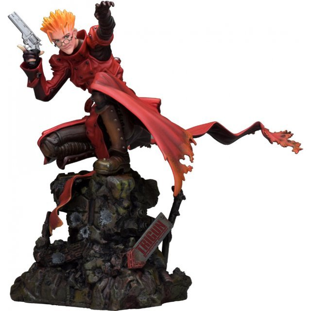 Trigun Badlands Rumble 1/6 Scale Pre-Painted Figure: Vash the Stampede Attack Ver.