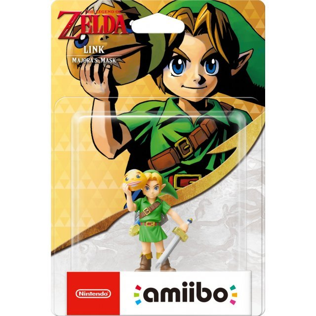 amiibo The Legend of Zelda Series Figure (Link) [Majora's Mask]