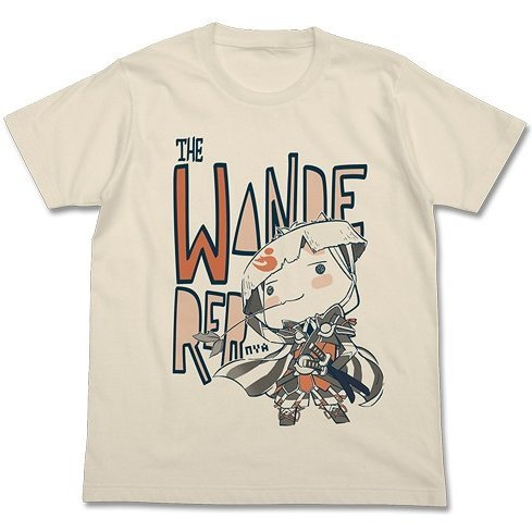 Dokodemoissho x Shiren The Wanderer Toro The Wanderer T-shirt Natural (XL Size)