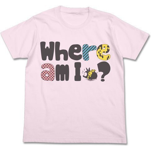 Ranma 1/2 P-chan T-shirt Light Pink (L Size)