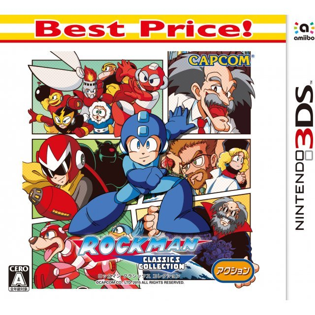 Rockman Classics Collection (Best Price!)