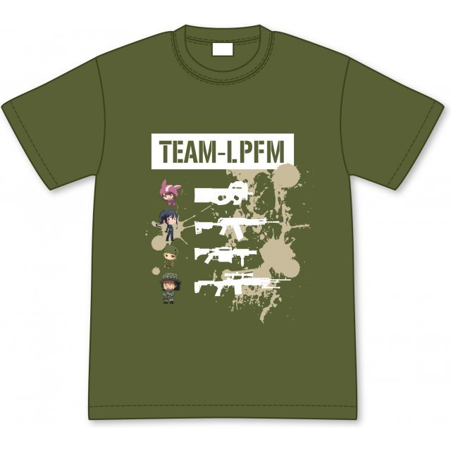 Sword Art Online Alternative Gun Gale Online: Team L.P.F.M. T-shirt (XL Size)