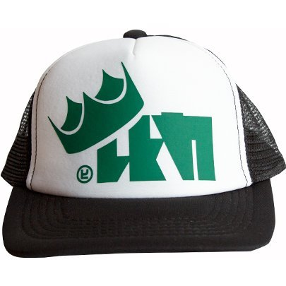 Splatoon 2 King Flip Mesh Cap Green