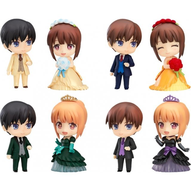 Nendoroid More: Dress Up Wedding - Elegant Ver. (Set of 8 pieces)