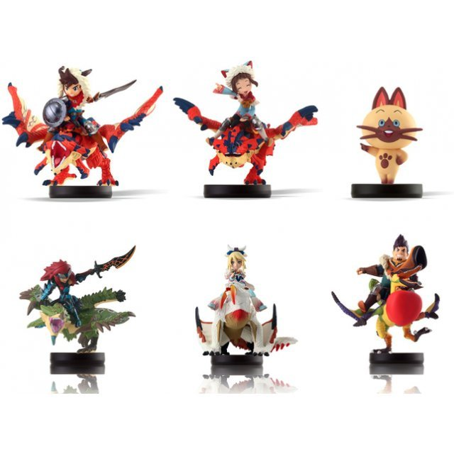 amiibo Monster Hunter Stories Series Figure (Special Bundle Pack)