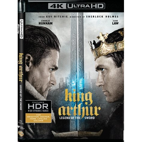 King Arthur: Legend Of The Sword 4K UHD+BD (2-Disc)