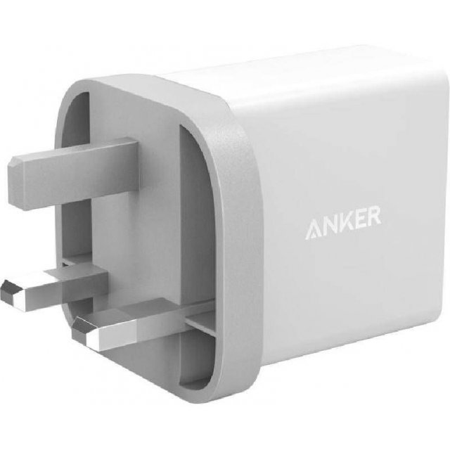 Anker 24W 2-Port USB Charger (White)