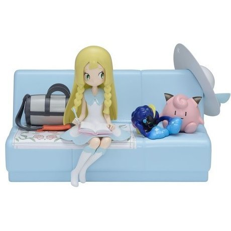 Pokemoon Sun & Moon Music Box: Lillie and Cosmog [Pokemon Center Online Shop Limited Ver.]
