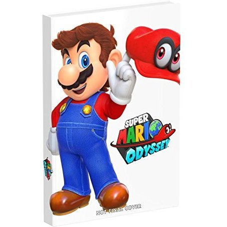 Super Mario Odyssey: Collector's Edition Guide (Hardcover)